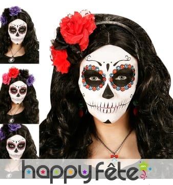 40 Strass de maquillage Dia de los muertos