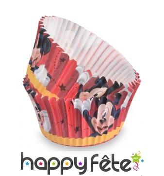 50 Moules Mickey pour cupcake de 7 cm