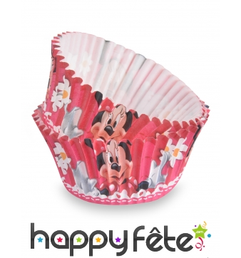 50 Moules Minnie pour cupcake de 7 cm