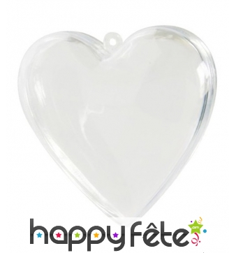 6 Coeurs transparents