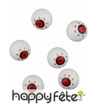 6 yeux décoratifs de 35mm