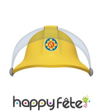 8 chapeaux de Sam le Pompier en carton