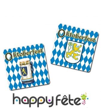 8 dessous de verre Oktoberfest