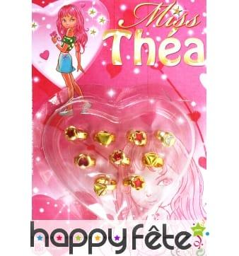9 bagues Barbie fantaisies
