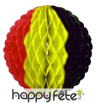 Alvéole au couleur de la Belgique