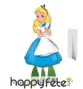 Alice aux pays des merveilles taille réelle