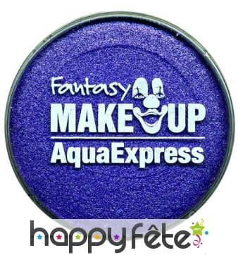 Aqua express nacré violet
