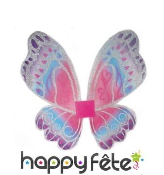 Ailes pastel de papillon pour enfant