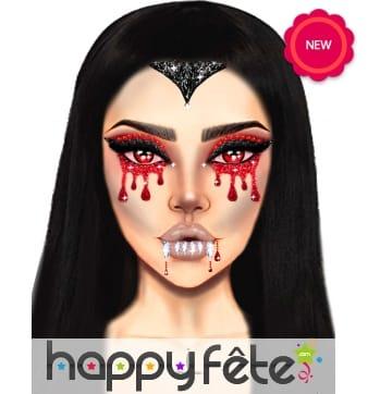 Adhésifs Vampire pour visage