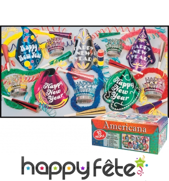 Boite assortiment americana happy new year