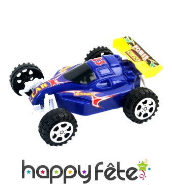 Buggy avec aileron arrière, rétro-friction
