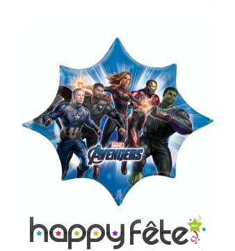 Ballon Avengers Endgame en forme d'étoile de 73 cm