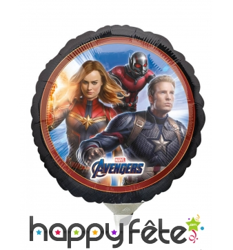 Ballon Avengers Endgame recto verso de 23 cm