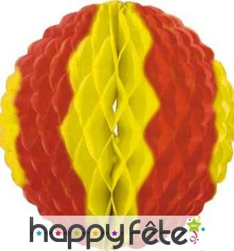 Boule alvéolée Espagne, 50 cm