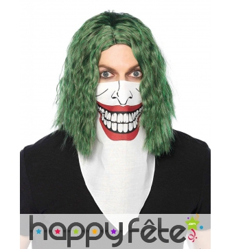Bandana bouche du joker