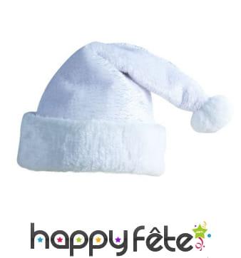 Bonnet blanc de Père Noël