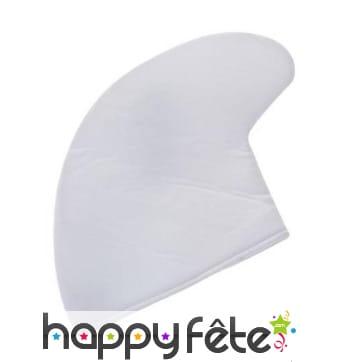 Bonnet blanc de schtroumpf