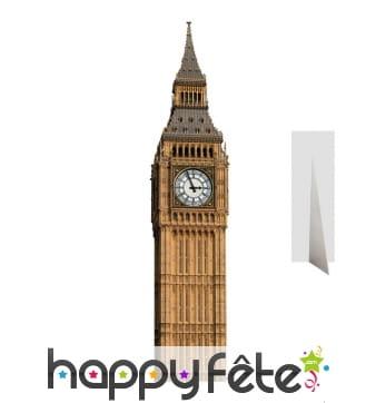 Big Ben en carton plat