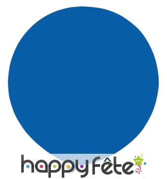 Ballon bleu moyen géant de 100cm