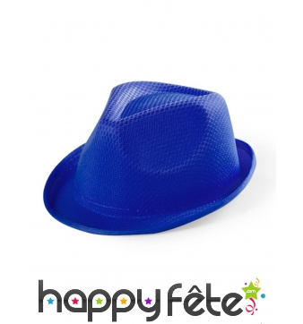 Borsalino bleu pour enfant