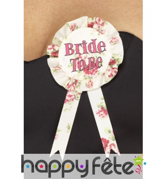 Badge Bride to Be Vintage