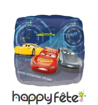 Ballon carré Cars de 43 cm
