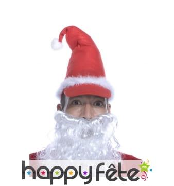 Bonnet casquette de père Noël