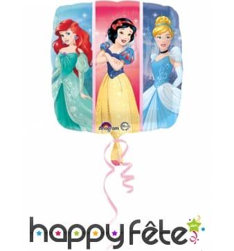 Ballon carré Princesses Disney de 43 cm