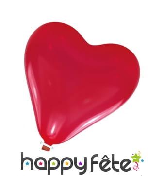 Ballon coeur rouge de 61 cm