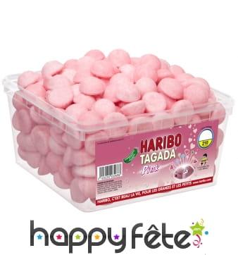 Boite de 210 fraises tagada pink haribo