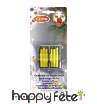Blister de 6 crayons gras