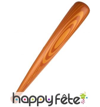 Batte de baseball gonflable imitation bois 82cm