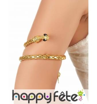 Bracelet de bras serpent