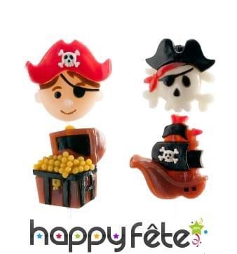 Brochettes de bonbons pirates gélifiés