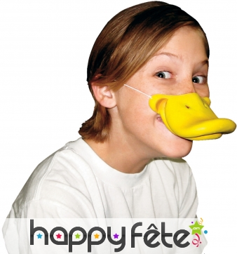 Bec de canard jaune pour enfant