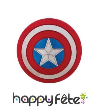 Bouclier de Captain America scintillant de 30 cm