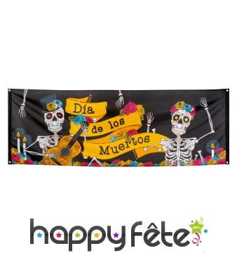 Banderole Dia de los Muertos