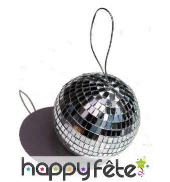 Boule disco décorative de 13 cm