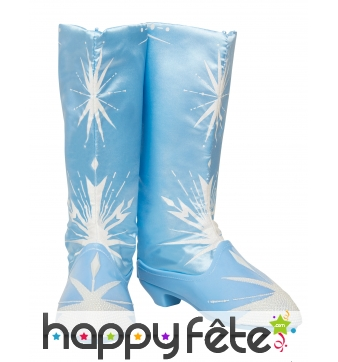 Bottes de Elsa La reine des neiges 2, luxe