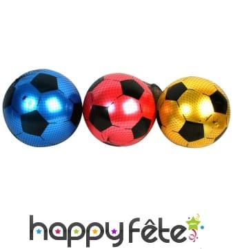 Ballon de foot coloré de 25cm, en plastique