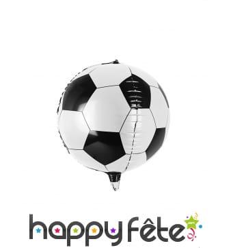 Ballon de foot en aluminium de 40 cm