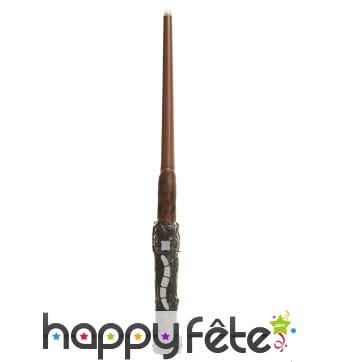 Baguette de Harry Potter lumineuse et sonore