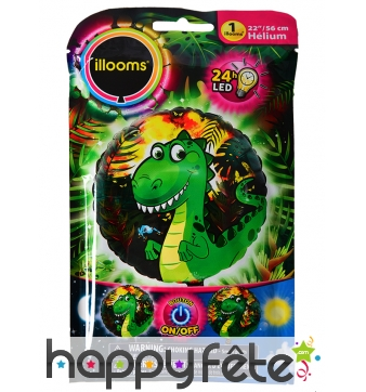 Ballon dragon LED lumineux de 50cm