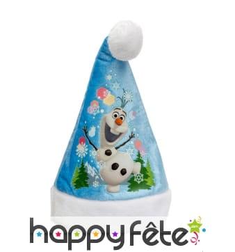 Bonnet de Noël Olaf pour enfant
