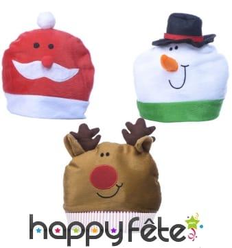 Bonnet de Noël rigolo pour enfant