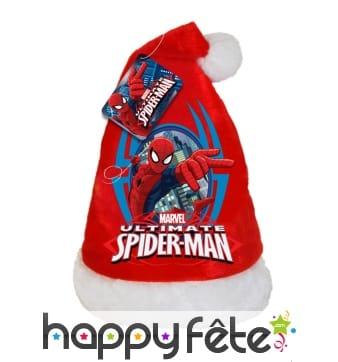Bonnet de Noël spider man