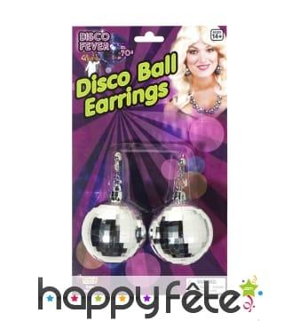 Boucles d'oreilles disco