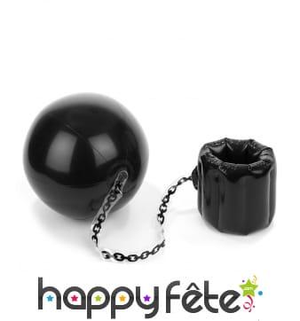 Boulet de prisonnier gonflable