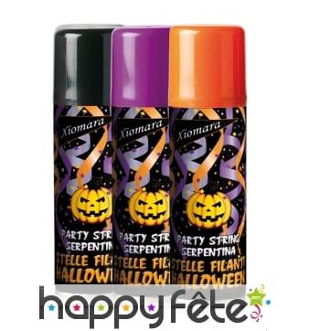 Bombe de serpentins Halloween