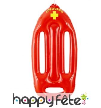 Bouée de sauvetage rouge à gonfler